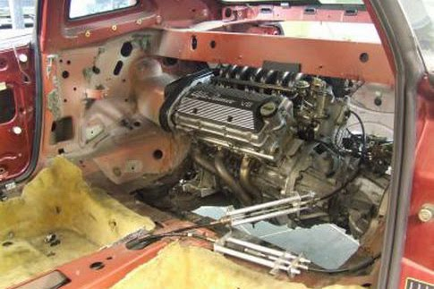 Alfa romeo 147 engine swap 11