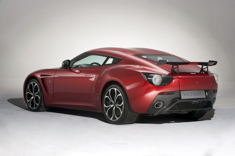 1 on aston martin v12 zagato