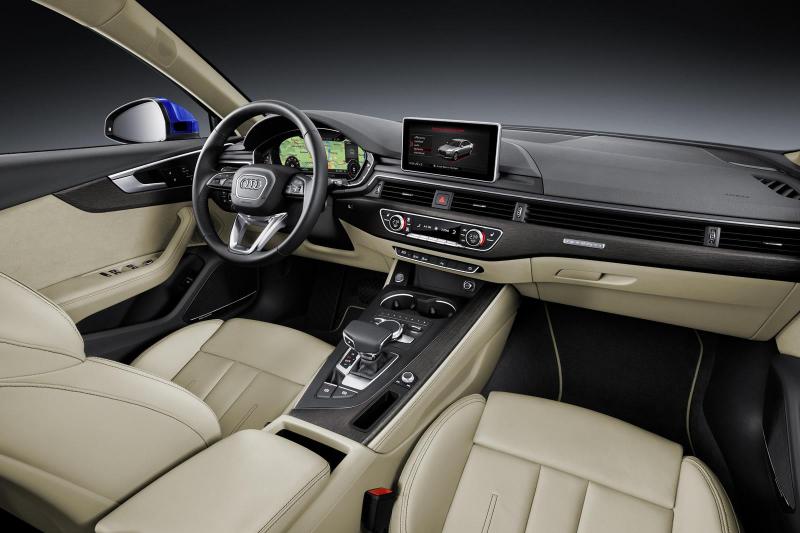 Interiér nového Audi A4 je noazaj špičkový! - svetapple.sk