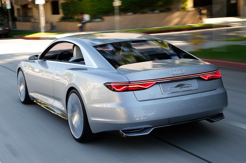 Galerie k článku Audi A8 2017: nová generace odhaluje svá ...