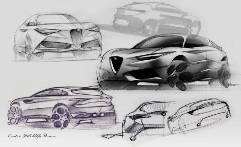 Galerie k článku Alfa Romeo Stelvio představena i v základu, s dieselem nemá ani 4x4 (143 ...