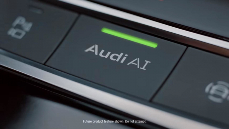 Galerie k článku Nové Audi A8 ukázalo ještě víc. Podívejte na příď, přístrojovku i části ...