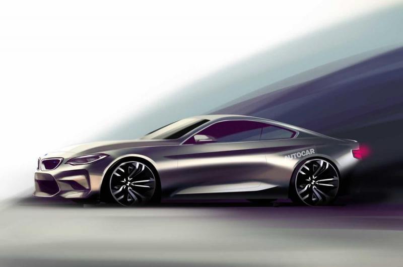 Galerie k článku BMW M8 2019 vstane jako Fénix z popela, chce ...
