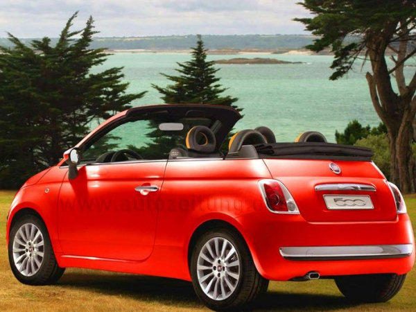 fiat 500 cabrio chyst se nejmen kabriolet. Black Bedroom Furniture Sets. Home Design Ideas