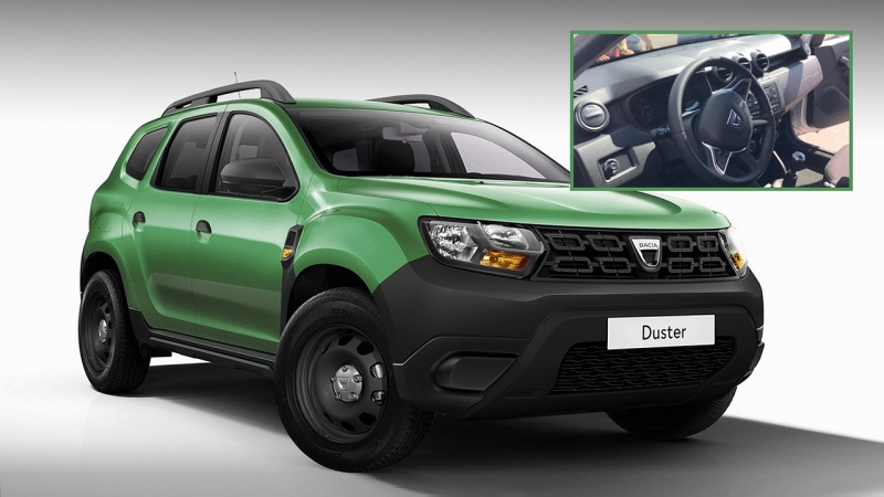 takhle bude vypadat nov dacia duster za asi 259 900 k. Black Bedroom Furniture Sets. Home Design Ideas