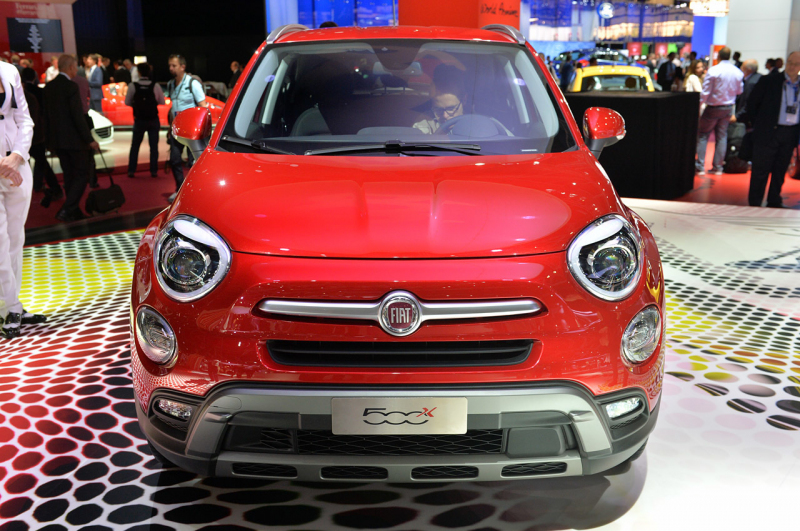 fiat 500x official pics fm paris 2014 auto show. Black Bedroom Furniture Sets. Home Design Ideas