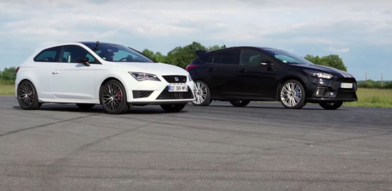 focus rs vs a 45 amg vs civic type r vs leon cupra kdo je. Black Bedroom Furniture Sets. Home Design Ideas