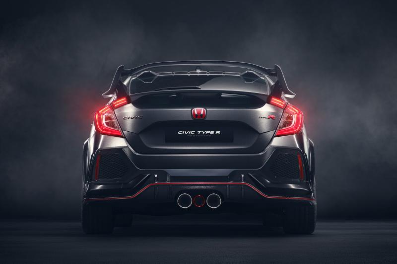 Galerie k článku Nová Honda Civic Type-R odhalena, vypadá ...
