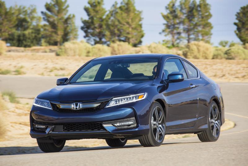 2016 Honda Accord Coupe Galerie k článku Honda Accord Coupe 2016: facelift neminul ...