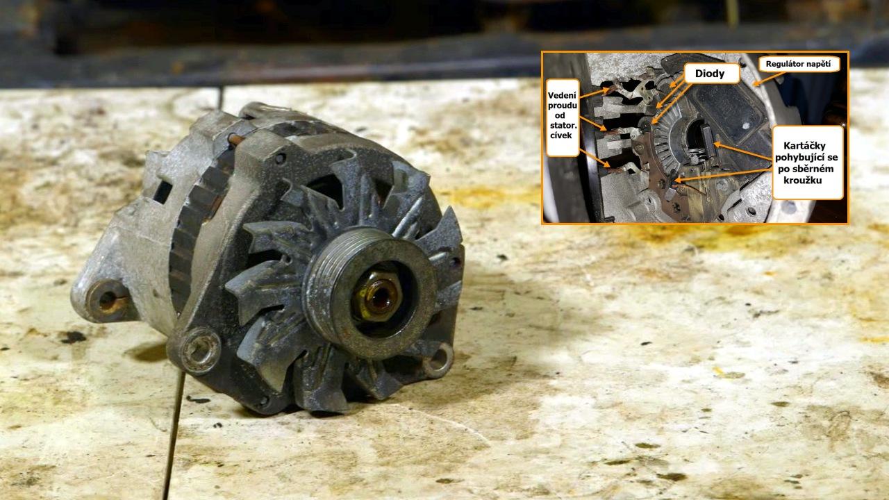 Připojte stejnosměrný motor k napájení střídavým proudem