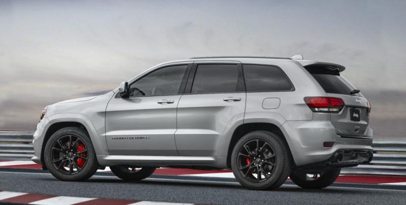 Galerie k článku Jeep Grand Cherokee SRT 2017 dostal novou ...