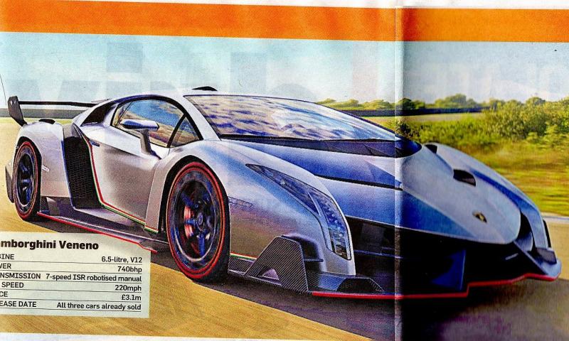 Lamborghini Veneno: nový speciál Lamba přečasně odhalen - 10 -