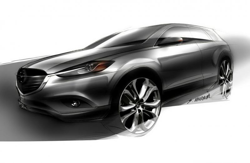 Mazda Cx 9 >> Galerie k článku Mazda CX-9 2013: facelift podrobněji ...