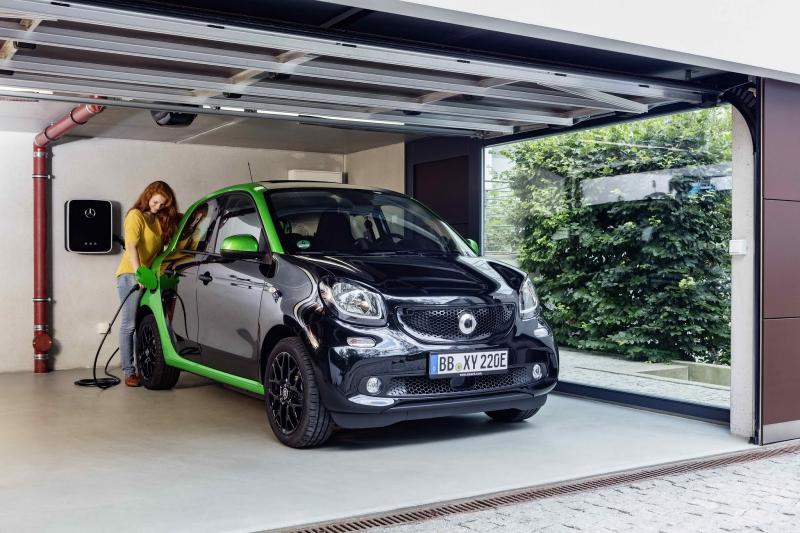 Smart ForTwo a ForFour Electric Drive majĂ 82 elektrokonĂ, dojezd aĹž 160 kilometrĹŻ