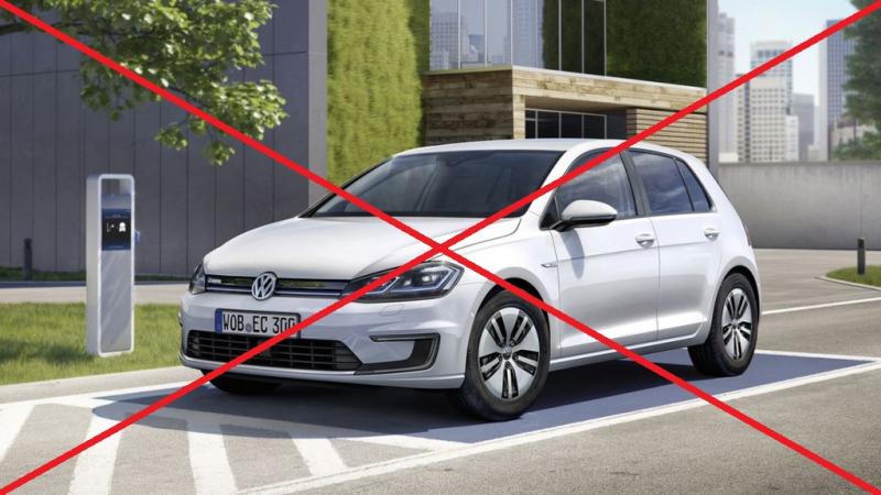 VW se v Německu dál marně snaží prodat elektrický Golf, už je nejlevnější ze všech