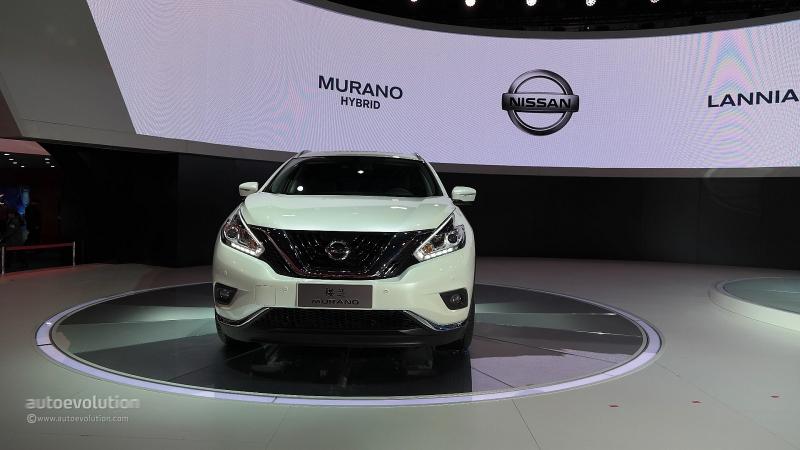 Nissan Murano hybrid greens up Shanghai - Autoblog