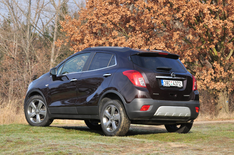 galerie k l nku test opel mokka 1 4 turbo 4x4 von hezky chutn m n 8. Black Bedroom Furniture Sets. Home Design Ideas