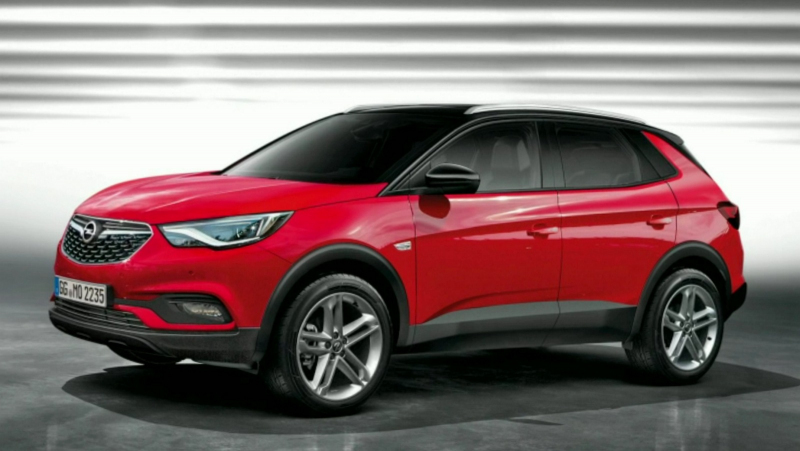 opel grandland x neues crossover modell f r die kompaktklasse kfz und opel news opel mokka. Black Bedroom Furniture Sets. Home Design Ideas
