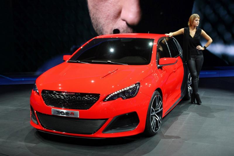 Nový Peugeot 308 GTI dorazí v roce 2014, s výkonem okolo 250 koní ...