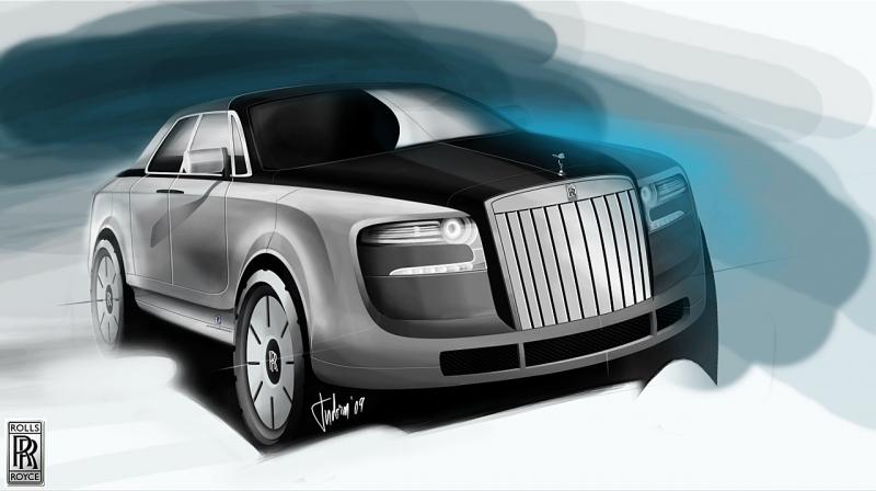 Galerie k článku Rolls-Royce: SUV by bodlo, potíž je jen s ...