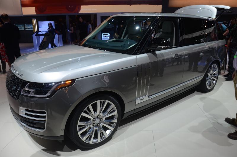 Range Rover Suv >> Galerie k článku Druhé nejdražší SUV světa se představilo ...