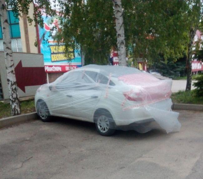 Jak ochránit auto před kroupami