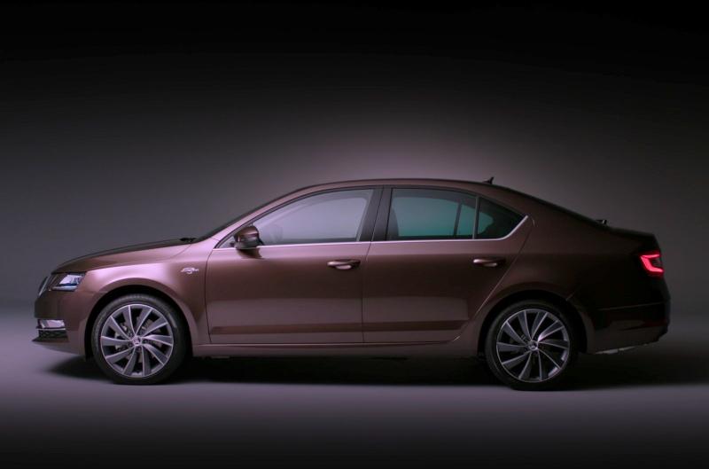 Galerie k článku Toto je Škoda Octavia po faceliftu, její