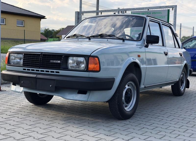 Škoda 105 L: Nájazd 45 211 km, 31 rokov, top stav!