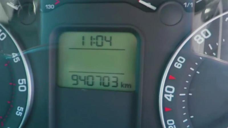 Škoda Octavia II TDI: Rekordný nájazd 940 000 km!