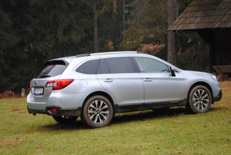 Galerie K čl 225 Nku Prvn 237 Test Subaru Outback 2015 Dynamicky