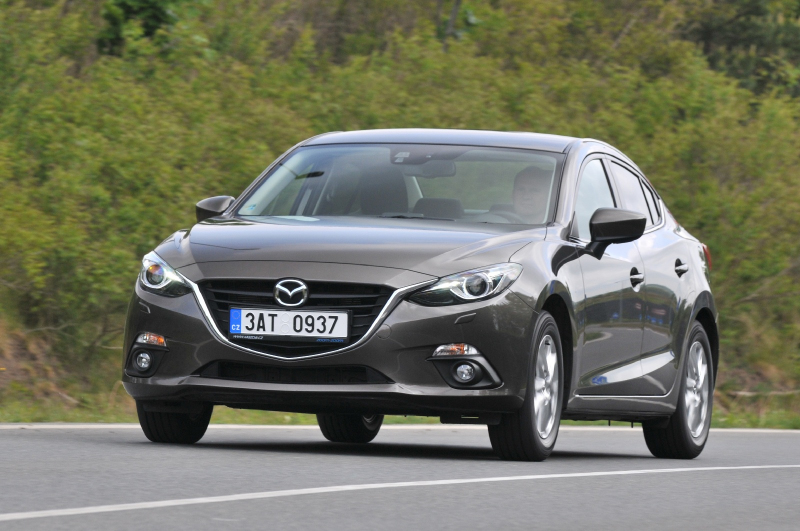 Galerie k článku Test Mazda 3 2014 2,0 SkyActiv-G 120 ...