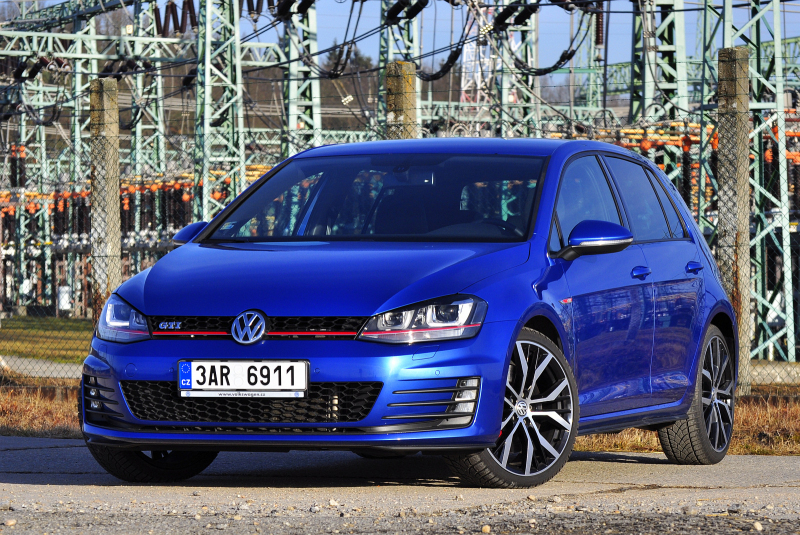 test vw golf vii gti performance nejlep golf ano hot