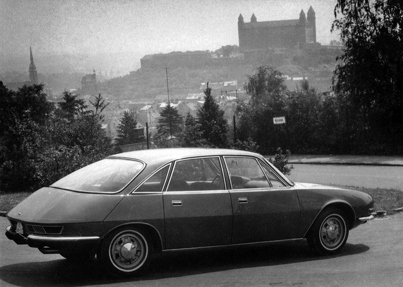 Tatra 603x: opvolger 603 was om een nieuwe auto te dromen - 12 -
