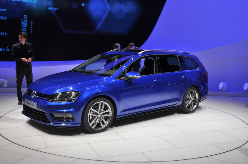 vw golf vii variant pr sentation gen ve en mars 2013. Black Bedroom Furniture Sets. Home Design Ideas