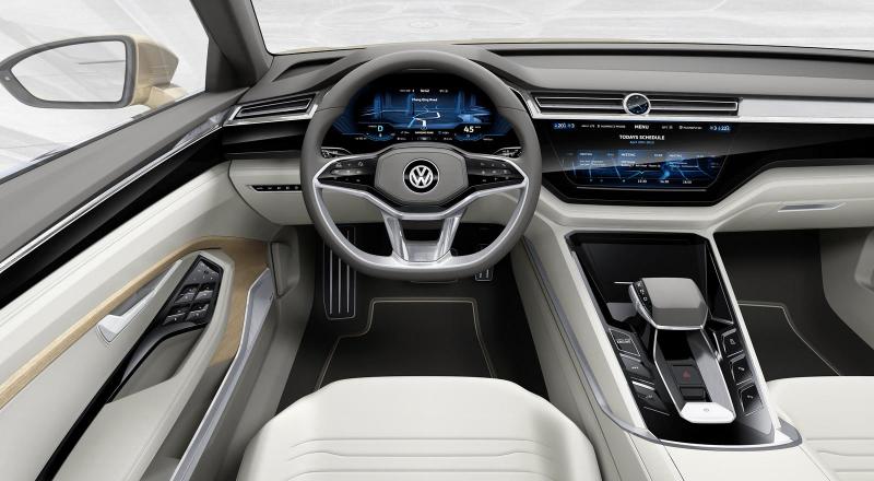 Galerie k článku Tohle je nový VW Phaeton, zatím si říká C ...